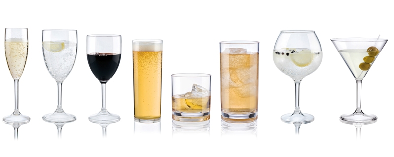 Cups glasses tumblers polycarbonate araven
